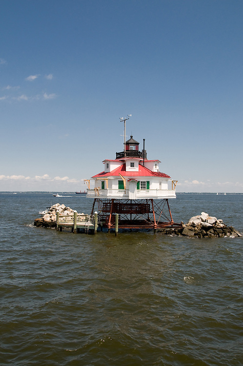 Thomas Point Lighthouse in Annapolis, Md