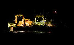 SOUTHERN OCEAN ESPERANZA 17JAN08 - Japanese government whaling vessel Nisshin Maru drifts in the Southern Ocean with deck lights illuminating operations on board....jre/Photo by Jiri Rezac..© Jiri Rezac 2008..Contact: +44 (0) 7050 110 417.Mobile:  +44 (0) 7801 337 683.Office:  +44 (0) 20 8968 9635..Email:   jiri@jirirezac.com.Web:    www.jirirezac.com..© All images Jiri Rezac 2008 - All rights reserved.