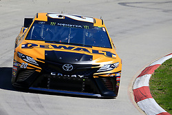 March 23, 2019 - Martinsville, VA, U.S. - MARTINSVILLE, VA - MARCH 23: #20: Erik Jones, Joe Gibbs Racing, Toyota Camry DeWalt during final practice for the STP 500 Monster Energy NASCAR Cup Series race on March 23, 2019 at the Martinsville Speedway in Martinsville, VA.  (Photo by David J. Griffin/Icon Sportswire) (Credit Image: © David J. Griffin/Icon SMI via ZUMA Press)
