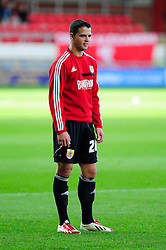 Bristol City's Stephen McLaughlin - Photo mandatory by-line: Robin White/JMP - Tel: Mobile: 07966 386802 21/10/2013 - SPORT - FOOTBALL - Selhurst Park - London - Crystal Palace V Fulham - Barclays Premier League