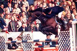 Philippaerts Ludo (BEL) - Darco<br /> CSI Kerstjumping Mechelen 1993<br /> © Dirk Caremans