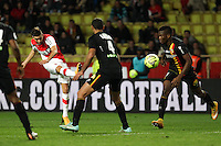Goal Yannick Ferreira Carrasco - 02.12.2014 - Monaco / Lens - 16eme journee de Ligue 1 -<br /> Photo : Jean Christophe Magnenet / Icon Sport