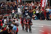 BMC during the 2018 UCI Road World Championships, Men's Team Time Trial cycling race on September 23, 2018 in Innsbruck, Austria - Photo Luca Bettini / BettiniPhoto / ProSportsImages / DPPI