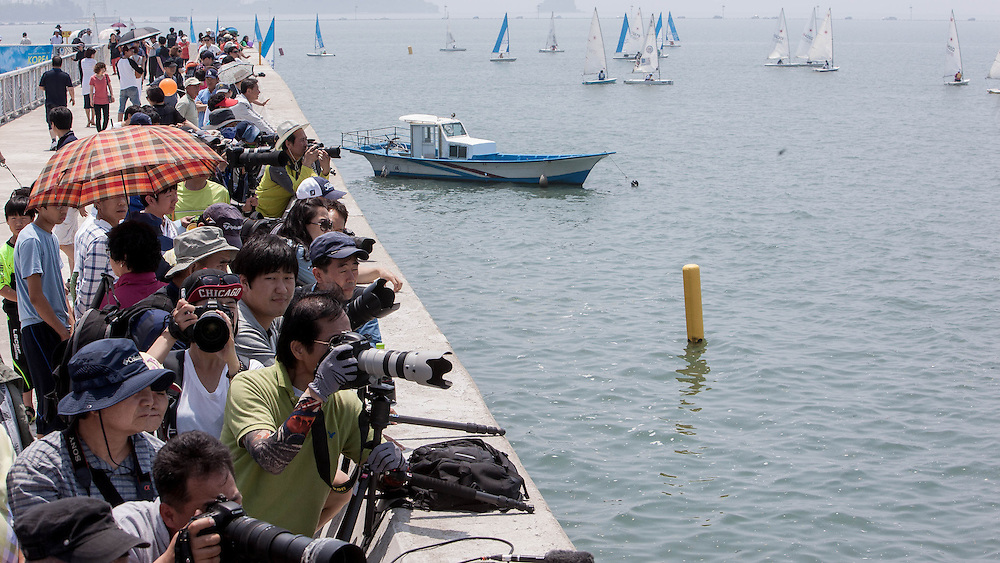 Crowds during the semi finals at Korea Match Cup 2013. Gyeonggi Province, Korea. 2 June 2013 Photo: Subzero Images/AWMRT