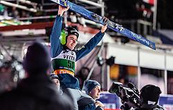 01.02.2019, Heini Klopfer Skiflugschanze, Oberstdorf, GER, FIS Weltcup Skiflug, Oberstdorf, Siegerehrung, im Bild Sieger Timi Zajc (SLO) // Winner Timi Zajc of Slovenia during the winner Ceremony of FIS Ski Jumping World Cup at the Heini Klopfer Skiflugschanze in Oberstdorf, Germany on 2019/02/01. EXPA Pictures © 2019, PhotoCredit: EXPA/ JFK
