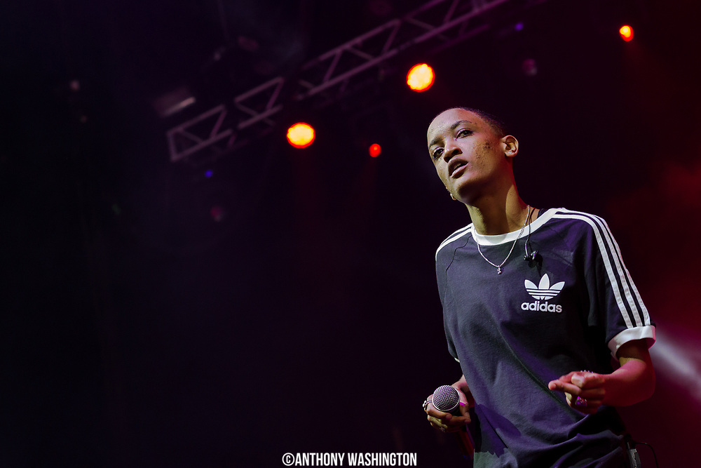 Syd The Kyd of the band The Internet performs during the Summer Spirit Festival at Merriweather Post Pavilion in Columbia, Md on Sunday, August 6, 2017.