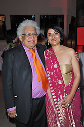 Costa First Novel Award Winner 2010 KISHWAR DESAI Ð Witness the Night, and her husband LORD DESAI at the Costa Book Awards 2010 held at Quaglino's, 16 Bury Street, London on 25th January 2011.<br /> Costa First Novel Award Winner 2010 KISHWAR DESAI – Witness the Night, and her husband LORD DESAI at the Costa Book Awards 2010 held at Quaglino's, 16 Bury Street, London on 25th January 2011.