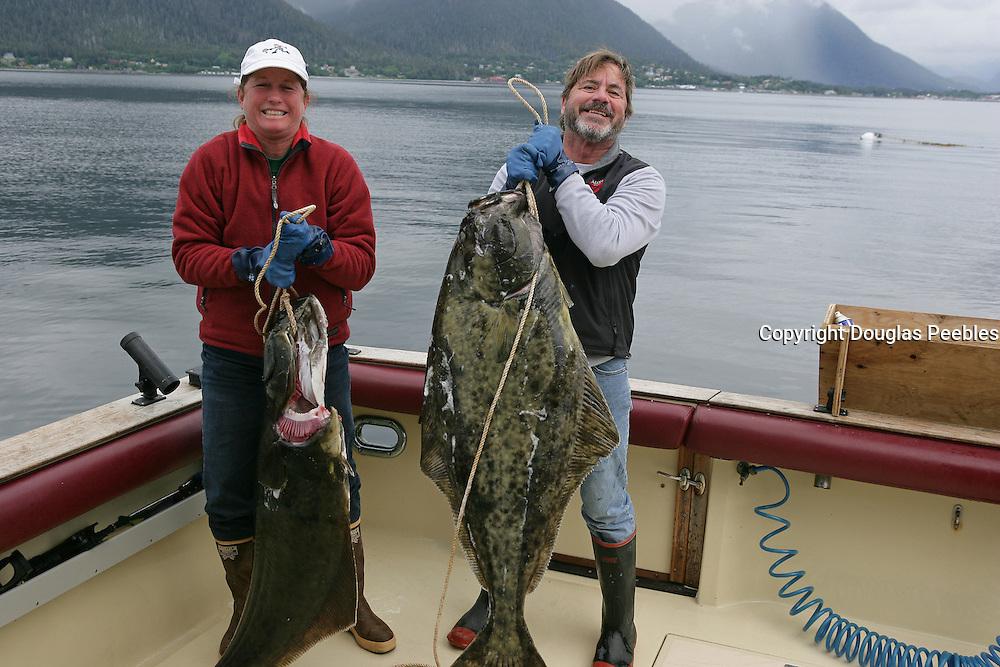 Halibut, Fishing, Alaska<br />