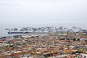 Mollendo is a town bordering the Pacific Ocean in southern Peru