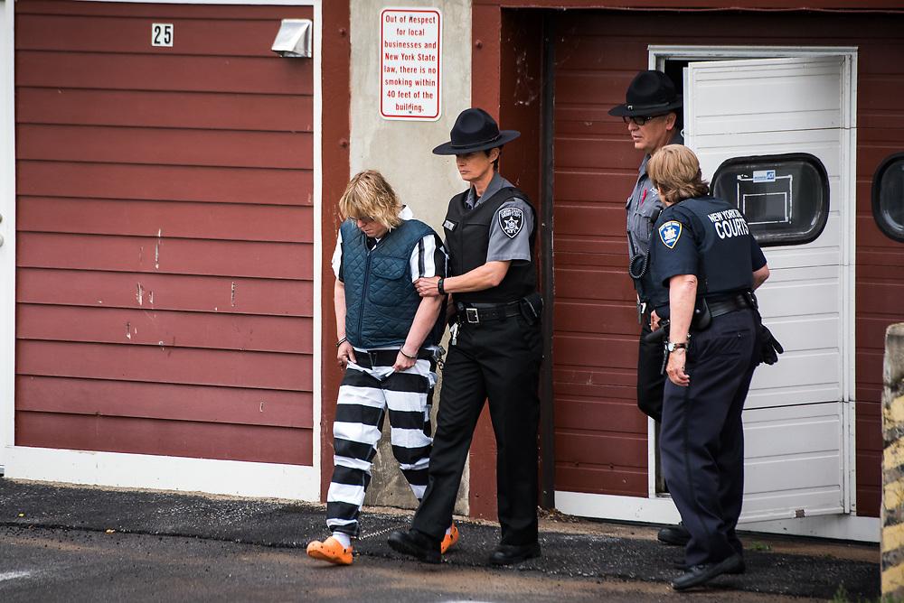 2015 escape of Richard Matt and David Sweat from Clinton Correctional Facility in Dannemora, New York.