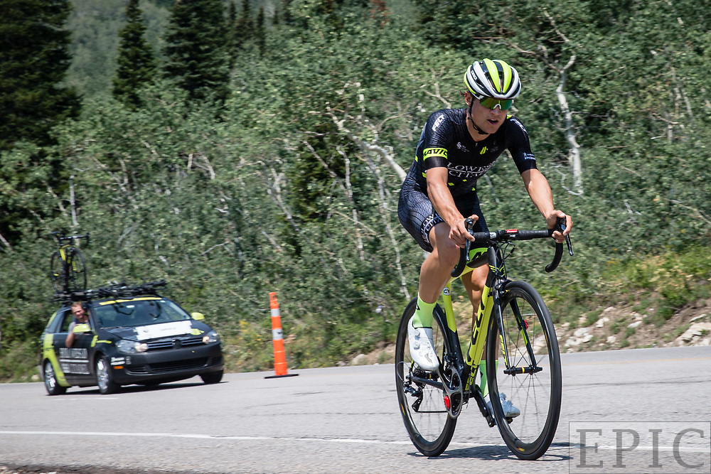 Cycling: Larry H. Miller Tour of Utah 2017 / Stage 3 - Rob Carpenter (Holowesko), 13th place.<br /> <br /> Big Cottonwood Canyon (9km) / TOU / ITT / Individual Time Trial / Utah  <br /> &copy; Jonathan Devich