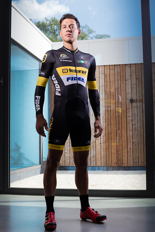 20160809 BAAL Belgium Balenberg Telenet Fidea Cycling Team Tom Meeusen (elite renner)<br /> presentation photo shoot at Balenberg <br /> pict FRANK ABBELOOS