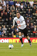 Richard Keogh during the Pre-Season Friendly match between Derby County and Villarreal CF at the iPro Stadium, Derby, England on 29 July 2015. Photo by Aaron Lupton.