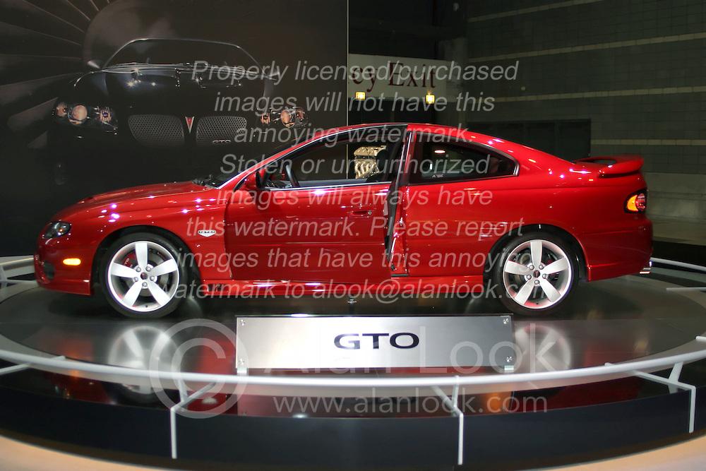 09 February 2006:  2007 Pontiac GTO.....Chicago Automobile Trade Association, Chicago Auto Show, McCormick Place, Chicago IL