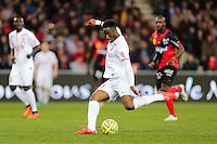 Soualiho MEITE  - 08.03.2015 - Guingamp / Lille - 28eme journee de Ligue 1 <br /> Photo : Vincent Michel / Icon Sport