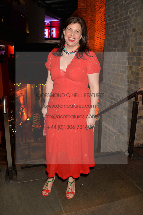 KIRSTIE ALLSOPP at A Night of Reggae in aid of Save The Children held at The Roundhouse, Chalk Farm Road, London NW1 on 12th March 2014.