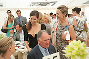 ANNA FRIEL; MRS. ARNAUD BAMBERGER, Cartier International Polo Day at the Guards Polo Club. Windsor. July 26  2009