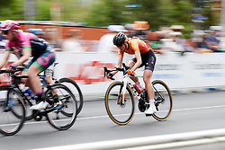 Leigh Ann Ganzar (USA) during Stage 4 of 2020 Santos Women's Tour Down Under, a 42.5 km road race in Adelaide, Australia on January 19, 2020. Photo by Sean Robinson/velofocus.com