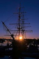 Dawn Treader Ship at Anchor in Dana Point Harbor