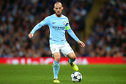 David Silva of Manchester City - Mandatory by-line: Matt McNulty/JMP - 26/09/2017 - FOOTBALL - Etihad Stadium - Manchester, England - Manchester City v Shakhtar Donetsk - UEFA Champions League Group stage - Group F