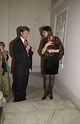 The Duke of Northumberland and Freda Katritzky, , Launch of ' The World of Private Castles, Palaces and Estates. Syon House. 31 October 2005. ONE TIME USE ONLY - DO NOT ARCHIVE © Copyright Photograph by Dafydd Jones 66 Stockwell Park Rd. London SW9 0DA Tel 020 7733 0108 www.dafjones.com
