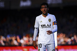 December 23, 2018 - Valencia, Spain - Dani Parejo of Valencia CF  during  spanish La Liga match between Valencia CF vs SD Hueca at Mestalla Stadium on December 23, 2018. (Photo by Jose Miguel Fernandez/NurPhoto) (Credit Image: © Jose Miguel Fernandez/NurPhoto via ZUMA Press)