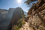 Angels Landing Trail, Zion National Park, Utah