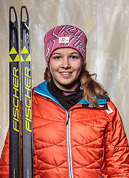 08.10.2016, Olympia Eisstadion, Innsbruck, AUT, OeSV Einkleidung Winterkollektion, Portraits 2016, im Bild Gina Bin, Langlauf, Damen // during the Outfitting of the Ski Austria Winter Collection and official Portrait Photoshooting at the Olympia Eisstadion in Innsbruck, Austria on 2016/10/08. EXPA Pictures © 2016, PhotoCredit: EXPA/ JFK