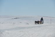 Photographs of John Baker's 2011 Iditarod run. Golovin Bay. Stephen Nowers/Alaska Dispatch.