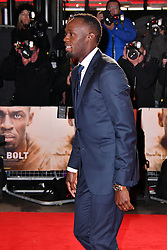 November 28, 2016 - London, London, United Kingdom - Image ©Licensed to i-Images Picture Agency. 28/11/2016. London, United Kingdom. Usain Bolt attends I Am Bolt world film premiere. Screening of documentary I Am Bolt exploring Bolt's legacy of the fastest man in history, at Odeon Leicester Square, London.  Picture by Nils Jorgensen / i-Images (Credit Image: © Nils Jorgensen/i-Images via ZUMA Wire)