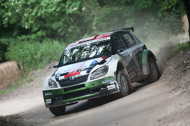 Goodwood Festival of Speed 2012 - Skoda Fabia S2000