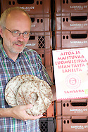 Luomuleipuri Peter Zukalen lempileipä on käsintehty ruisreikäleipä.