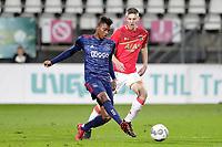 (L-R) Mateo Cassierra of Ajax U23, Mees Hoedemakers of AZ Alkmaar U23