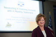 Ranel Lasley is a Caddo county extension specialists in family and consumer science. Susan Roth and Ranel teach a financial management course.