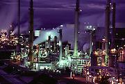 Oil refinery in Rodeo, California. (1984).