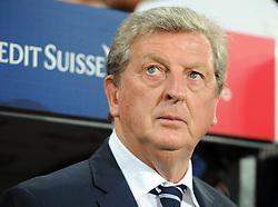 England Manager, Roy Hodgson  - Photo mandatory by-line: Joe Meredith/JMP - Mobile: 07966 386802 - 08/09/14 - SPORT - FOOTBALL - Switzerland - Basel - St Jacob Park - Switzerland v England - Uefa Euro 2016 Group E Qualifier