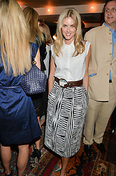 DONNA AIR at the Cavan.com Pop-Up sale held at The Belgraves Hotel, 20 Chesham Place, London on 20th May 2014.