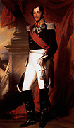 Leopold I King of Belgium painted by Franz Winterhalter (1805 – 1873) German painter. Leopold I  (1790 – 1865)king of Belgium from July 1831 to 1873.