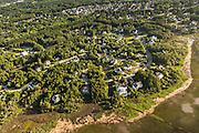 Aerial view of Hamlin Plantation development in Mount Pleasant, SC.