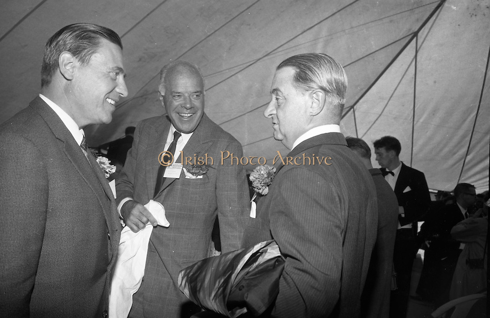 Official opening of Northgate Exploration Ltd's Tynagh Mines, Co. Galway by An Taoiseach Se&aacute;n Lemass.<br /> 22.10.1965