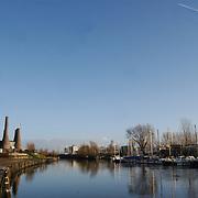 Oude Haven Huizen, boot, boten, water, kade, oever, kalkovens,