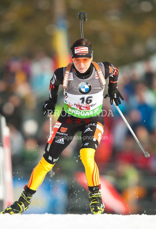09.12.2011, Biathlonzentrum, Hochfilzen, AUT, E.ON IBU Weltcup, 2. Biathlon, Herren 10km Sprint, im Bild Andrea Henkel (GER) // Andrea Henkel of Germany during men 10km Sprint at E.ON IBU Worldcup 2th Biathlon, Hochfilzen, Austria on 2011/12/09. EXPA Pictures © 2011, PhotoCredit: EXPA/ Johann Groder
