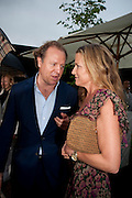 INDIA HICKS, The Summer party 2011 co-hosted by Burberry. The Summer pavilion designed by Peter Zumthor. Serpentine Gallery. Kensington Gardens. London. 28 June 2011. <br /> <br />  , -DO NOT ARCHIVE-© Copyright Photograph by Dafydd Jones. 248 Clapham Rd. London SW9 0PZ. Tel 0207 820 0771. www.dafjones.com.