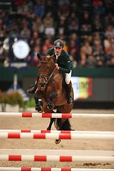 Skrzyczynski, Jaroslaw (POL), Ares<br /> Leipzig - Partner Pferd 2016<br /> Wernesgrüner Zeitspringen<br /> © www.sportfotos-lafrentz.de / Stefan Lafrentz
