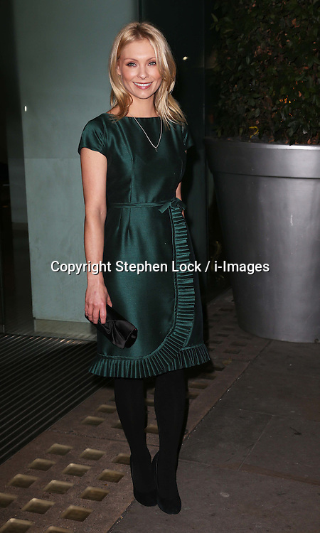 Downton Abbey actress Myanna Buring arriving at the English National Ballet party to celebrate their Christmas production of The Nutcracker, in London , Thursday, December 13th 2012.  Photo by: Stephen Lock / i-Images