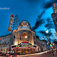 """One of the """"official"""" photographs of the AMC Mainstreet Theatre which AMC had me shoot shortly after its grand opening after completion of renovation in 2009."""