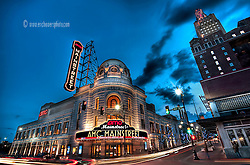 "One of the ""official"" photographs of the AMC Mainstreet Theatre which AMC had me shoot shortly after its grand opening after completion of renovation in 2009."