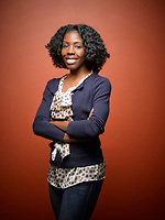 Studio portraits for Stephanie Melbourne. Photo by Delane Rouse/DC Corporate Headshots.
