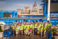 High Diving Podium<br /> Volunteers<br /> Day 17 30/07/2017<br /> XVII FINA World Championships Aquatics<br /> City Park - Varosliget Lake<br /> Budapest Hungary <br /> Photo Giorgio Scala/Deepbluemedia/Insidefoto