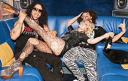 Ke$ha & LMFAO Promoshoot - Birmingham, United Kingdom. Picture Date: 3 July, 2011